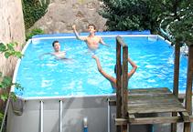 le gite - piscine hors-sol